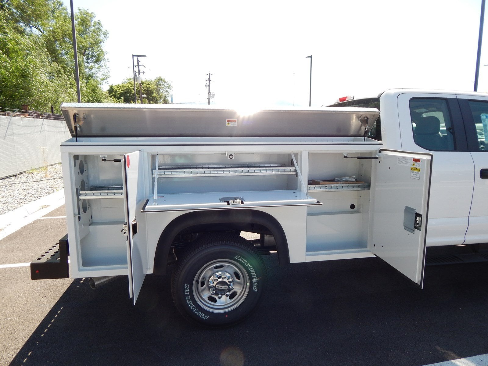 2018 F-250 Super Cab 4x4,  Monroe MSS II Deluxe Service Body #68184 - photo 2