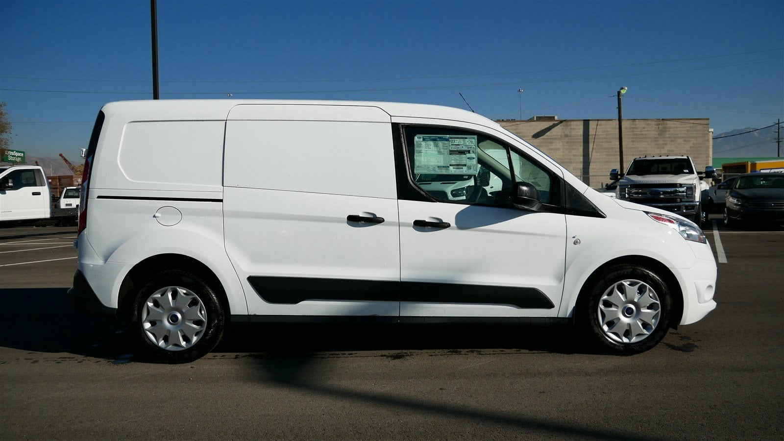 2018 transit connect 4x2 empty cargo van 68195 photo