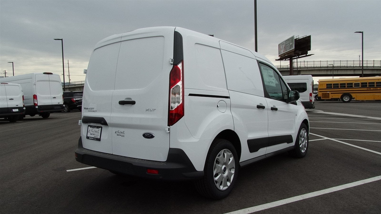 2018 Transit Connect 4x2,  Empty Cargo Van #68201 - photo 4