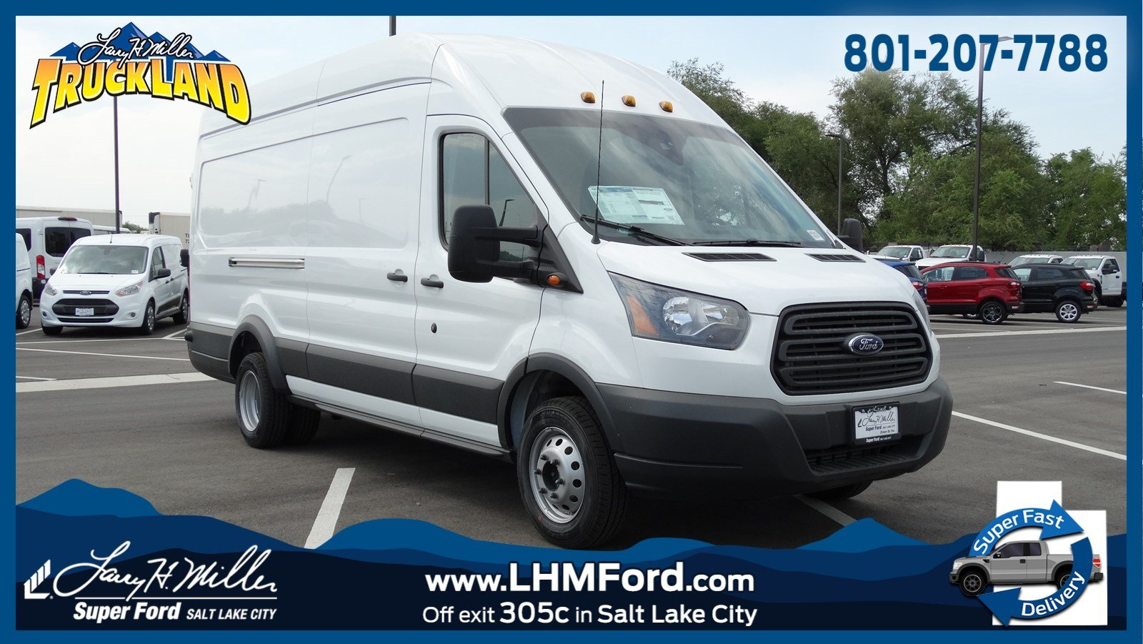 2018 transit 350 hd high roof drw 4x2 empty cargo van 68242 photo