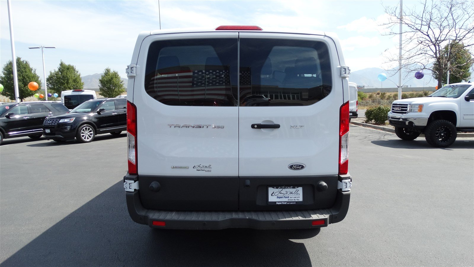 2018 Transit 350 Low Roof 4x2,  Passenger Wagon #68247 - photo 4