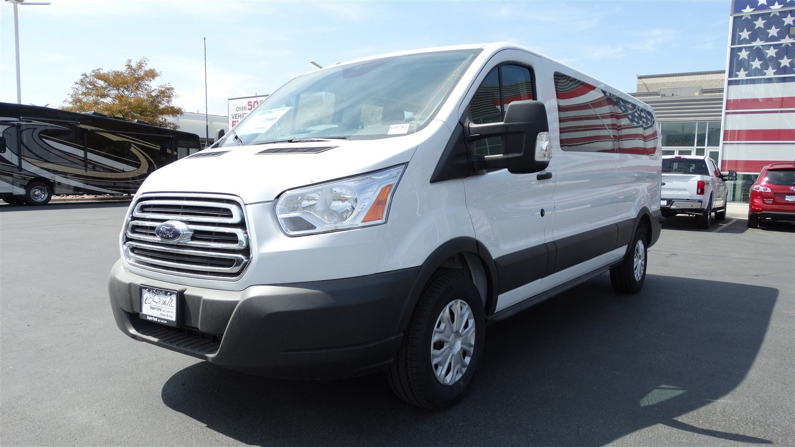 2018 Transit 350 Low Roof 4x2,  Passenger Wagon #68247 - photo 7