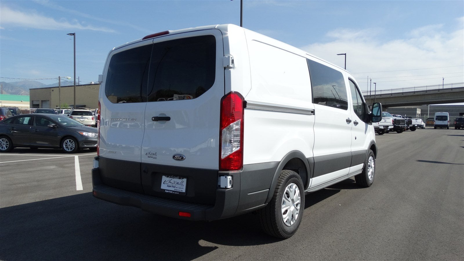 2018 Transit 150 Low Roof 4x2,  Empty Cargo Van #68262 - photo 4