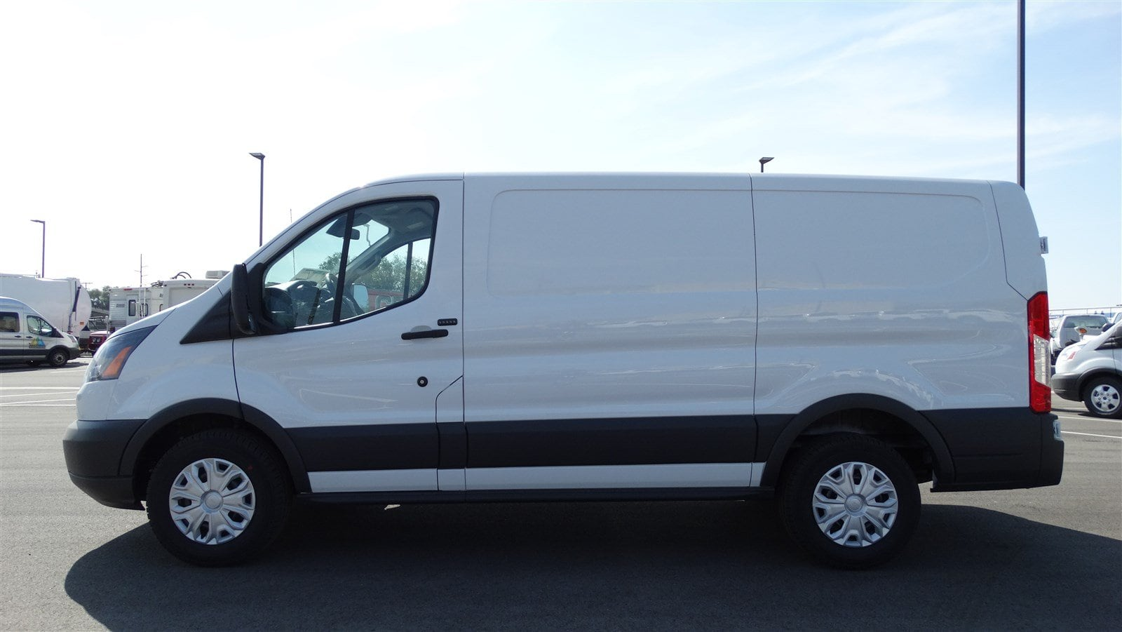 2018 Transit 150 Low Roof 4x2,  Empty Cargo Van #68262 - photo 7