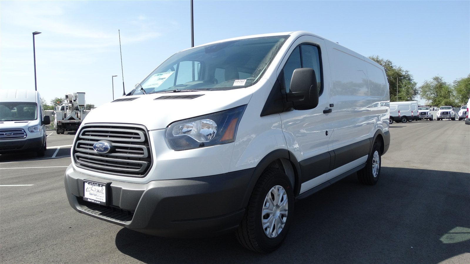 2018 Transit 150 Low Roof 4x2,  Empty Cargo Van #68262 - photo 8