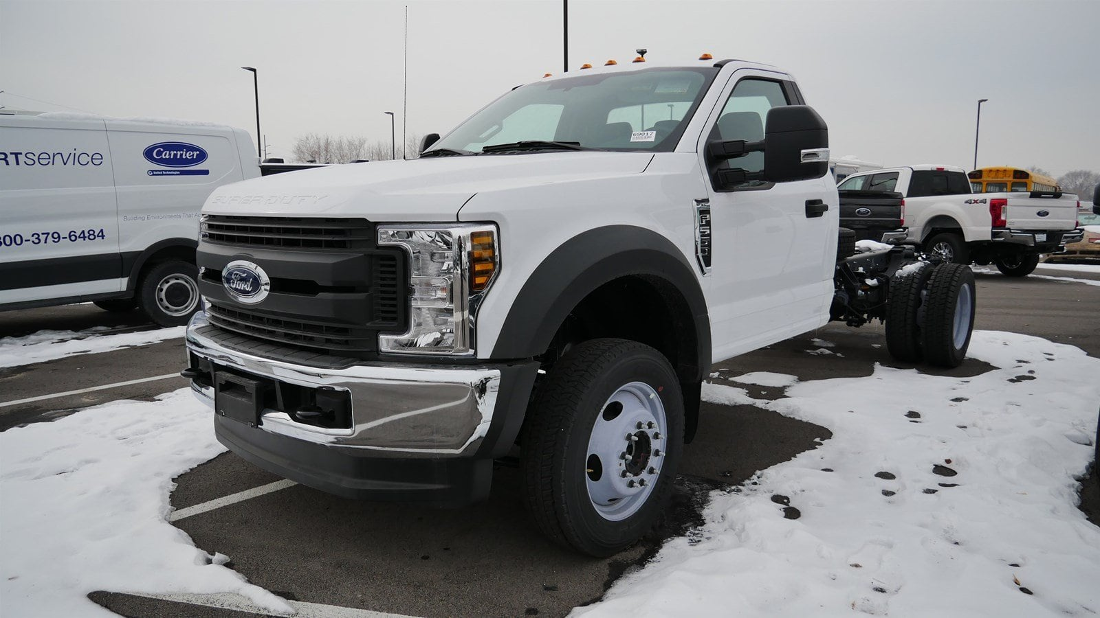 2019 F-550 Regular Cab DRW 4x4,  Cab Chassis #69017 - photo 5