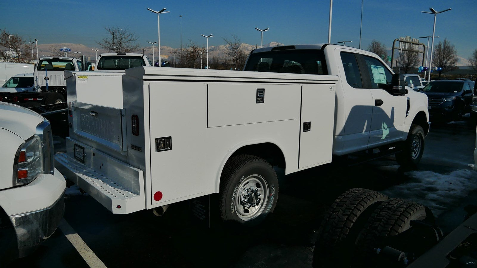2019 F-350 Super Cab 4x4,  Reading Service Body #69029 - photo 2