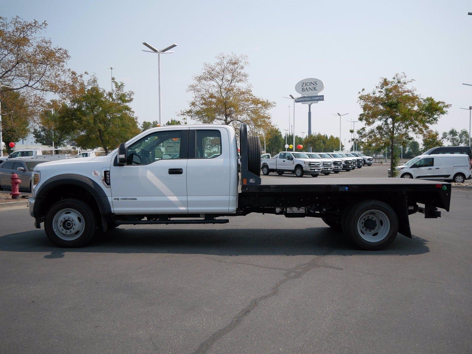 2019 Ford F-550 Super Cab DRW 4x4, CM Truck Beds Platform Body #69365 - photo 8