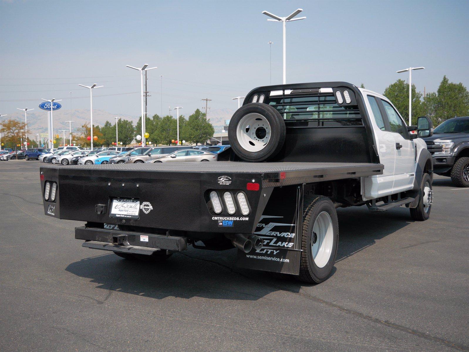 2019 Ford F-550 Super Cab DRW 4x4, CM Truck Beds Platform Body #69365 - photo 1