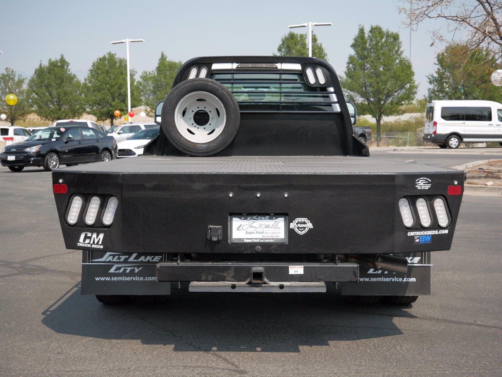 2019 Ford F-550 Super Cab DRW 4x4, CM Truck Beds Platform Body #69365 - photo 6