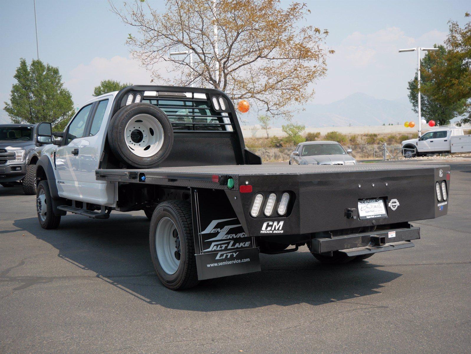 2019 Ford F-550 Super Cab DRW 4x4, CM Truck Beds Platform Body #69365 - photo 7