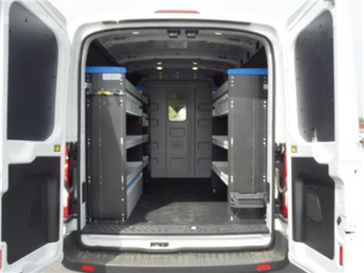 2017 Transit 250 Med Roof, Sortimo ProPaxx HVAC and Plumbing Upfitted Van #2C51503 - photo 2