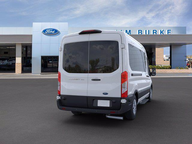 2020 Ford Transit 350 Med Roof 4x2, Passenger Wagon #2C72360 - photo 8