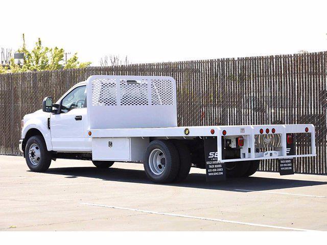 2021 Ford F-350 Regular Cab DRW 4x2, Scelzi WFB Platform Body #3G76453 - photo 25