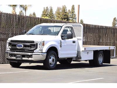 2021 Ford F-350 Regular Cab DRW 4x2, Scelzi WFB Platform Body #3G76453 - photo 12