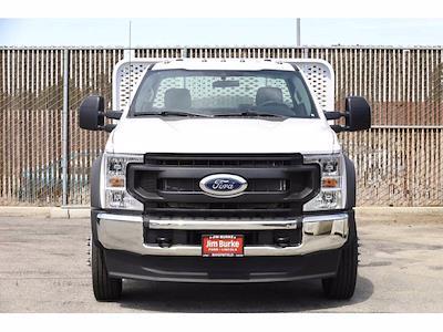 2021 Ford F-450 Regular Cab DRW 4x2, Scelzi WFB Platform Body #4G03281 - photo 3