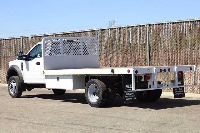 2020 Ford F-450 Regular Cab DRW 4x2, Scelzi WFB Platform Body #4G62633 - photo 8