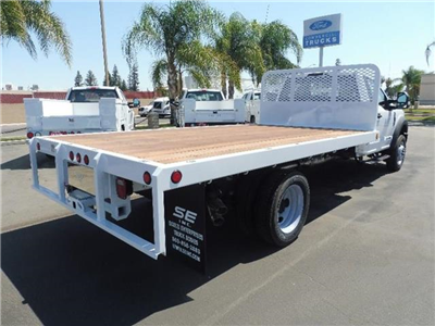 2018 F-450 Regular Cab DRW 4x2,  Scelzi WFB Platform Body #4G70963 - photo 2