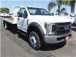2018 F-450 Regular Cab DRW 4x2,  Scelzi Platform Body #4G70963 - photo 1