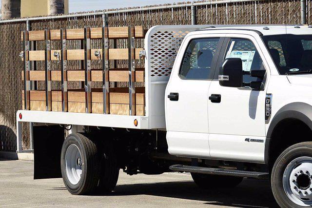 2020 Ford F-550 Crew Cab DRW 4x2, Scelzi WFB Stake Bed #5G13293 - photo 4