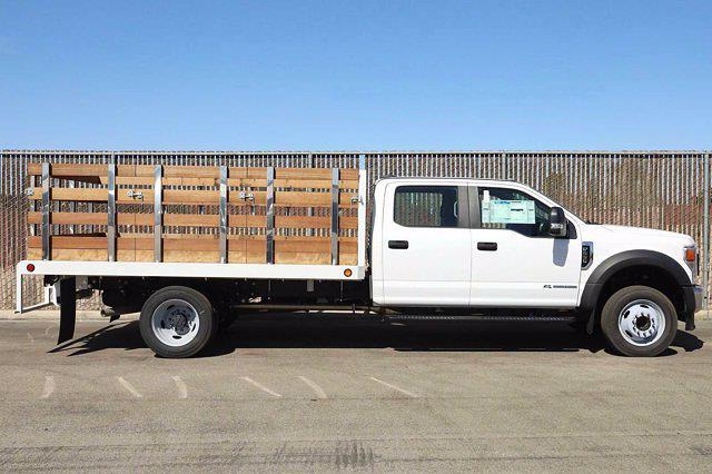 2020 Ford F-550 Crew Cab DRW 4x2, Scelzi WFB Stake Bed #5G13293 - photo 3
