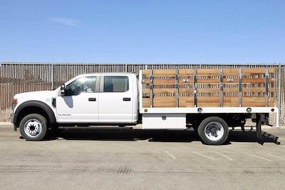 2020 Ford F-550 Crew Cab DRW 4x2, Scelzi WFB Stake Bed #5G13293 - photo 9
