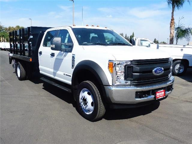 2017 F-550 Crew Cab DRW 4x2,  Stake Bed #5G95031 - photo 1