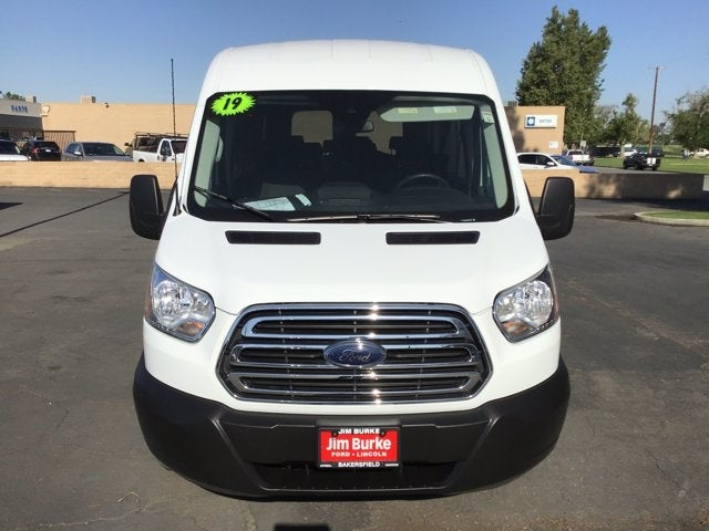 2019 Ford Transit 350 Med Roof 4x2, Passenger Wagon #P17703 - photo 3