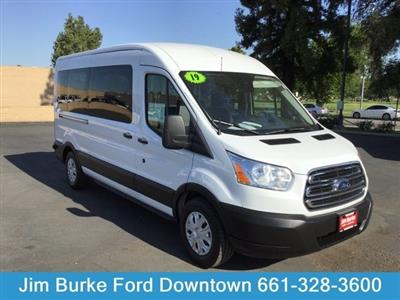 2019 Ford Transit 350 Med Roof 4x2, Passenger Wagon #P17703 - photo 1