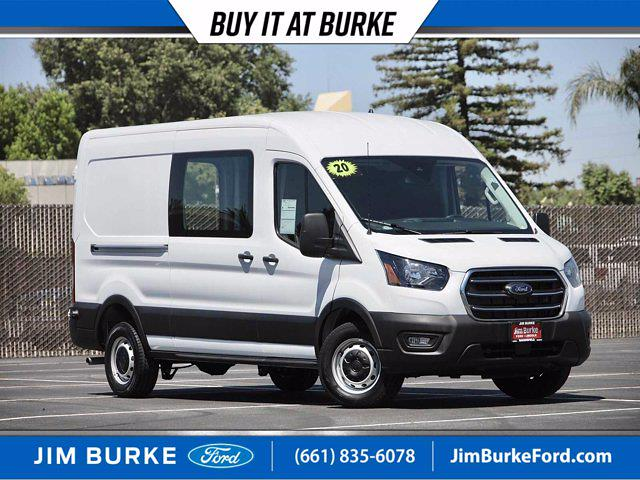 2020 Ford Transit 250 Med Roof 4x2, Empty Cargo Van #P18267 - photo 1