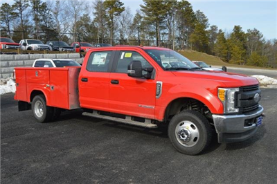 2017 F-350 Crew Cab DRW 4x4, Service Body #N5923 - photo 1