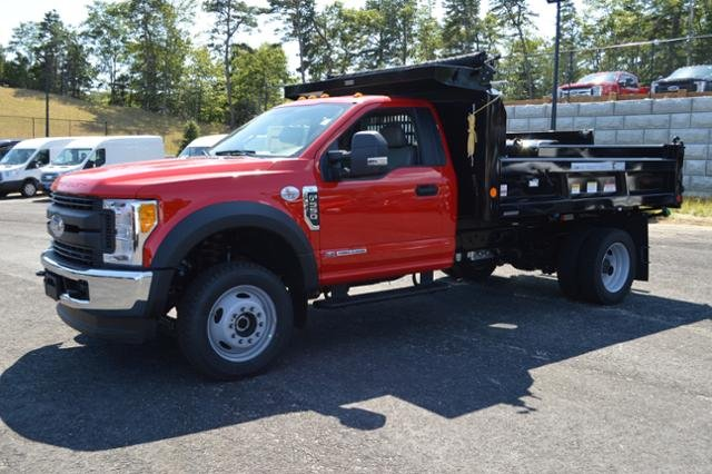 2017 F-550 Regular Cab DRW 4x4, Dump Body #N6337 - photo 4
