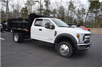 2018 F-550 Super Cab DRW 4x4, Dump Body #N6950 - photo 1