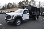 2018 F-550 Regular Cab DRW 4x4, Landscape Dump #N6958 - photo 1