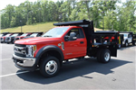 2018 F-550 Regular Cab DRW 4x4,  Iroquois Dump Body #N7021 - photo 1