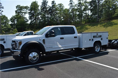 2018 F-550 Crew Cab DRW 4x4,  Service Body #N7032 - photo 1