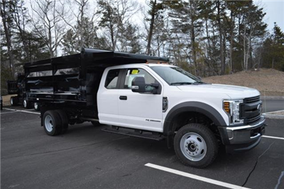 2018 F-550 Super Cab DRW 4x4, Landscape Dump #N7106 - photo 1