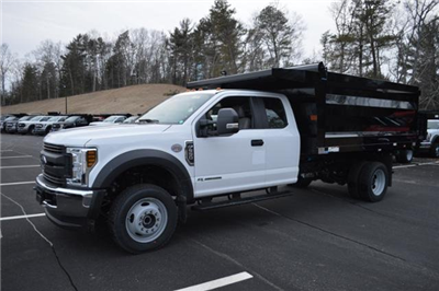 2018 F-550 Super Cab DRW 4x4, Landscape Dump #N7106 - photo 4
