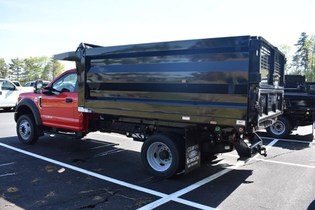 2018 F-550 Regular Cab DRW 4x4,  Rugby Landscape Dump #N7113 - photo 2