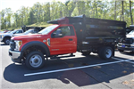 2018 F-550 Regular Cab DRW 4x4,  Rugby Landscape Dump #N7113 - photo 1