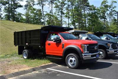 2018 F-550 Regular Cab DRW 4x4,  Reading Landscaper SL Landscape Dump #N7118 - photo 3