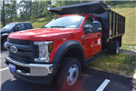 2018 F-550 Regular Cab DRW 4x4,  Reading Landscaper SL Landscape Dump #N7118 - photo 1