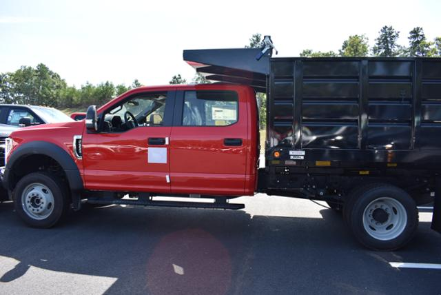 2018 F-550 Crew Cab DRW 4x4,  Reading Landscape Dump #N7269 - photo 3