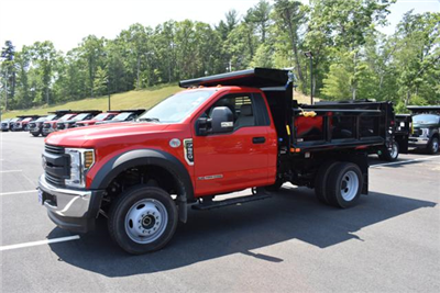 2018 F-550 Regular Cab DRW 4x4,  Air-Flo Pro-Class Dump Body #N7271 - photo 4