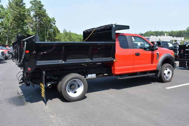 2018 F-550 Super Cab DRW 4x4,  Air-Flo Dump Body #N7335 - photo 4