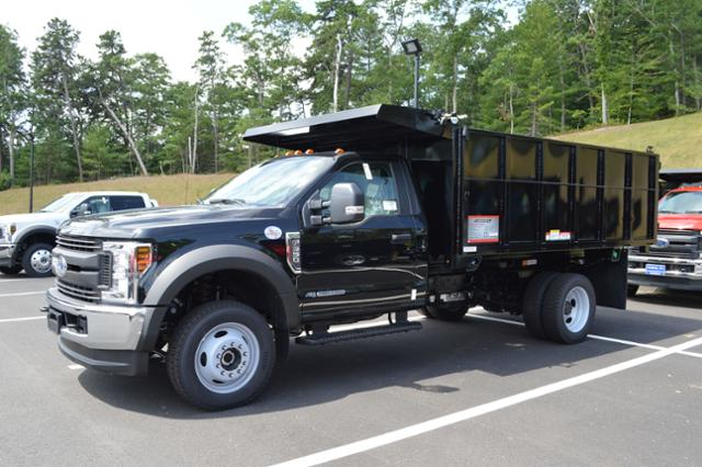 2018 F-550 Regular Cab DRW 4x4,  Reading Landscape Dump #N7387 - photo 4