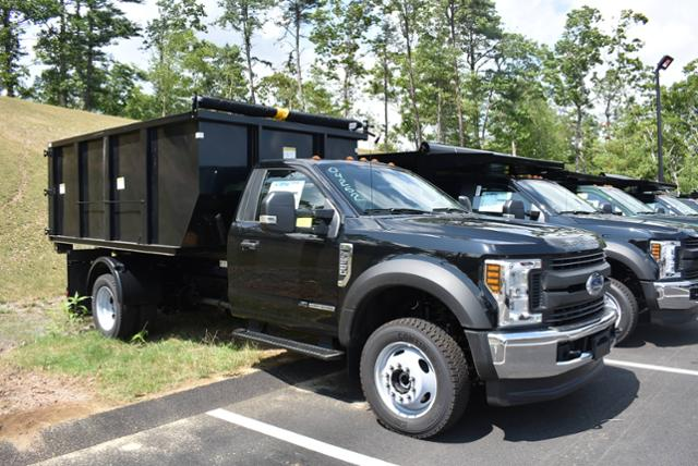 2018 F-550 Regular Cab DRW 4x4,  Switch N Go Landscape Dump #N7388 - photo 10