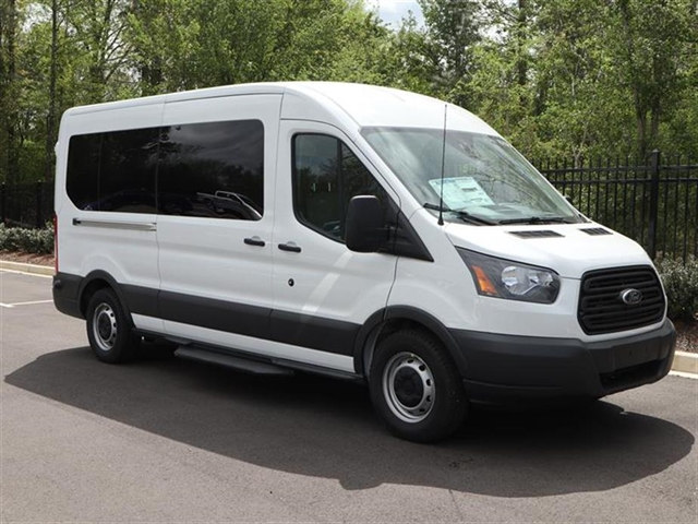 2018 Transit 350 Med Roof,  Passenger Wagon #18T0927 - photo 3
