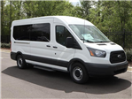 2018 Transit 350 Med Roof 4x2,  Passenger Wagon #18T0927 - photo 3