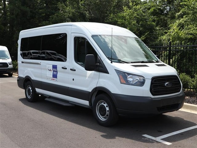 2018 Transit 350 Med Roof 4x2,  Passenger Wagon #18T0940 - photo 3